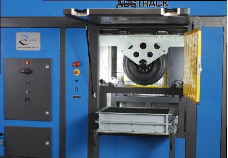 متراکم کننده غلطکی و آزمایش شیار چرخ (  Wheel tracker & Roller Compactor)